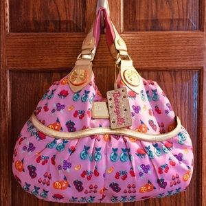 Betsey Johnson Fruit Purse Orange Slice Pink